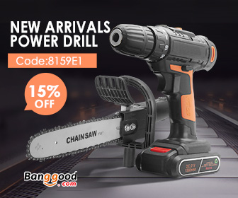 15% OFF Coupon for Electronics Power Drill