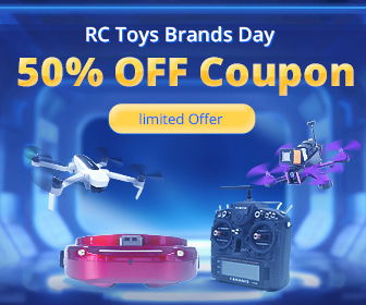 Up to 50% OFF Coupon for RC Toys Brand