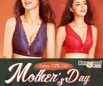 Happy Mother's Day!!! Up to 66% OFF for Lingerie with Extra 10% OFF Coupon