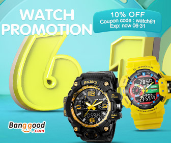 10% OFF coupon for watch
