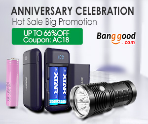 Up to 66% OFF for Hot Sale Flashlight Anniversary Celebration