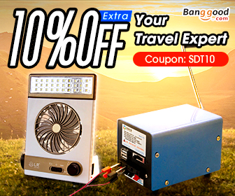 Up to 55% OFF for Supplies of Camping with Extra 10% OFF Coupon