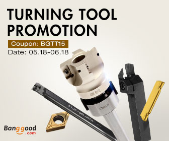 15% OFF for ALL Turning Tools
