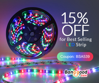 15% OFF for LED Strip Products