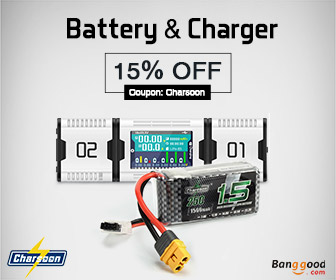 15% OFF for RC Battery & Charger