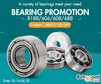 13% OFF for Electronics Bearing Promotion
