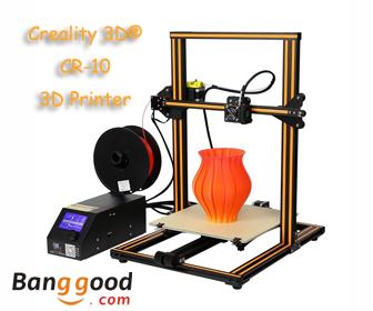 18% OFF for Creality 3D® CR-10 DIY 3D Printer
