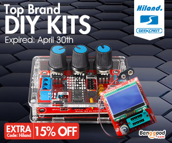 EXTRA 15% OFF for Top Brand DIY Kits from BANGGOOD TECHNOLOGY CO., LIMITED
