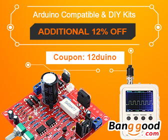 12% OFF for Arduino Compatible & DIY Kits