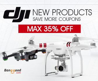 Max 35% OFF for DJI Brand Products