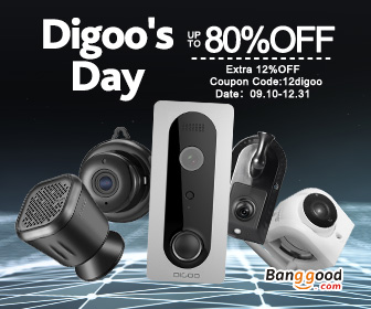 Up to 80% OFF Digoo Smarthome Promotion