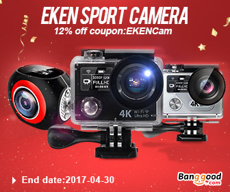 From $1.69 for Eken Sport Camera