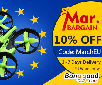 March Bargain: 10% OFF for ALL Categories in EU Warehouse