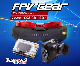 20% OFF for FPV Gears