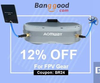 Extra 12% OFF for FPV System - Black Friday Sale