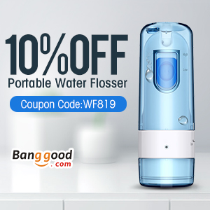 Only $35.99 for Loskii BR-69 Portable Smart Water Flossing Cordless Oral Irrigator