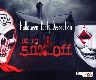 Up to 50% OFF Decoration Acc & Masks for Halloween Party