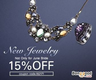 15% OFF for Jewelry New Arrival Sale