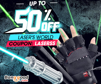Up to 50% OFF for Laser Pointer