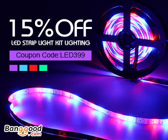 15% OFF For LED Strip Light Kit Lighting