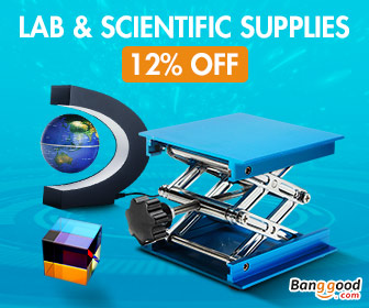 12% OFF for Lab & Scientific Supplies from BANGGOOD TECHNOLOGY CO., LIMITED