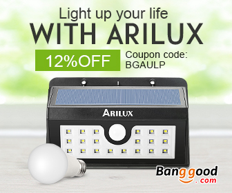 12% OFF for ARILUX LED Lighting Promotion