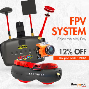 12% OFF for FPV SYSTEM