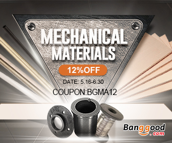 12% OFF for Mechanical Materials Promotion