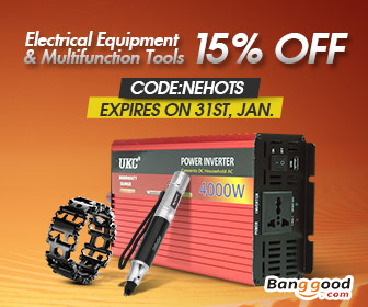 Up to 51% OFF for Electrical Equipment & Multi-funtional Tools with Extra 15% OFF Coupon