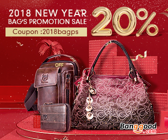 Up to 20% OFF for New Year's Promotion of Bags