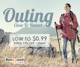 15% OFF for Outdoor & Camping Products