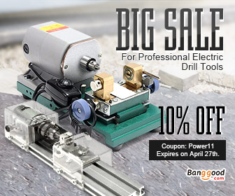 10% OFF for Professional Power Drill Grinder Tools