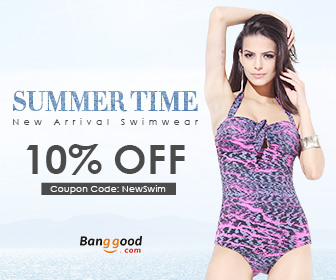 10% OFF for New Arrival Swimwear