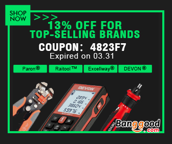 13% OFF for Eletronics Top-selling Brands