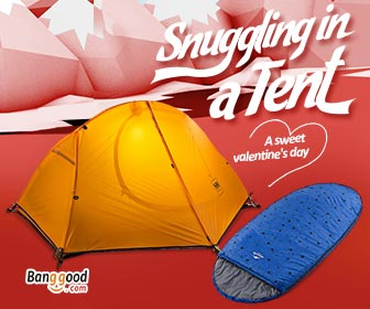 15% OFF Valentine's Promotion for Outdoor Products