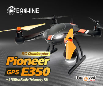 20% OFF Eachine Pioneer E350 RC Quadcopter RTF