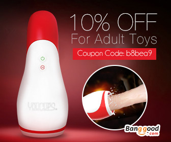 10% OFF for ALL Adult Toys