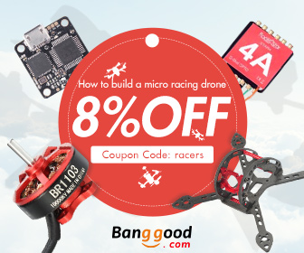 8% OFF RC Drone Accessories Promotion