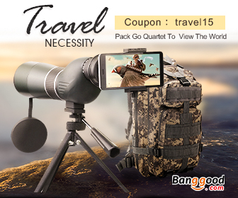15% OFF New Year Promotion for Outdoor Travelling