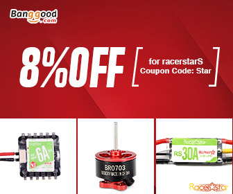 8% OFF Racestar Brand for RC Accessories