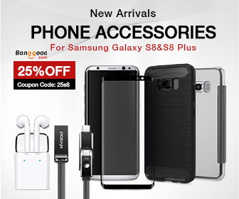20% OFF Phone Accessories for Samsung Galaxy S8 & S8 Plus