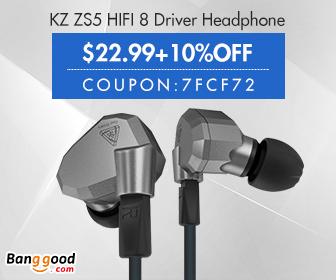 10% OFF HIFI 8 Driver Double Balanced Armatures Hybrid Headphone