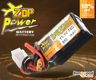 10% OFF ZOP Power Battery for RC Products