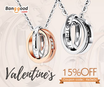 Happy Valentines Day!!! Up to 67% OFF for Jewelry with Extra 15% OFF Coupon