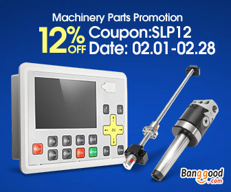 12% OFF for Machinery parts Promotion