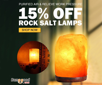 Extra 15% OFF for Rock Salt Lamps