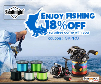 18% OFF for SeaKnight Fishing Tools