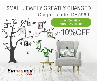 10% OFF for Home Decorative Products