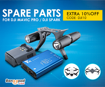 10% OFF for DJI Spare Parts Collection