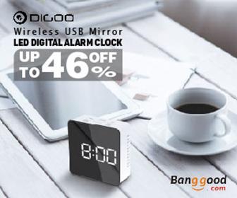 Only $6.01 for Digoo DG-DM1 Alarm Clock